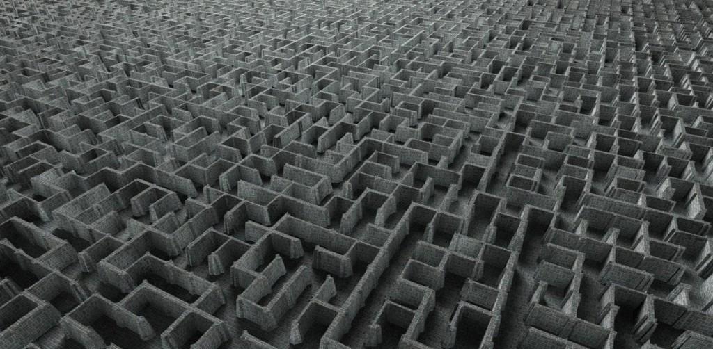 labyrinth-wall
